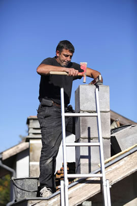 Tiburon, California Chimney and Fireplace Mason Contractor.