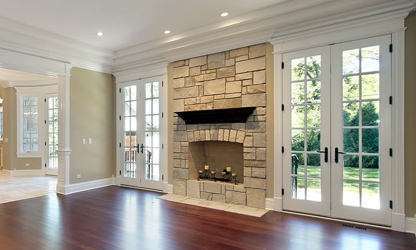 New fireplace installs north bay area sierra west for New construction fireplace