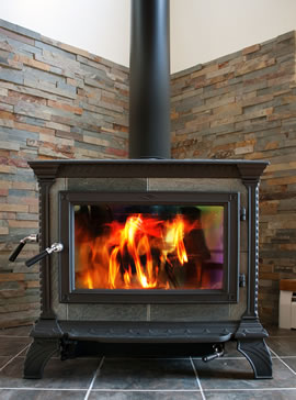 Wood Stove Installations in Marin County.