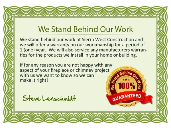 Sierra West Warranty